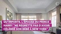 """Meghan Markle """"ne regrette pas"""" sa baby shower à New York, mal..."""