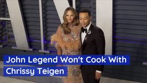 John Legend Stays Out Of The Kitchen