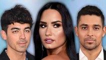 Demi Lovato Shades Joe Jonas & Wilmer Valderrama