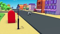 La Super Patrouille, camion pompier et voiture de police, et l'Anniversaire de Mat à Car City
