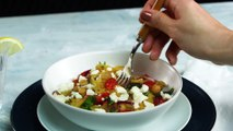 How to Make Greek Spaghetti Squash Toss