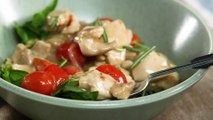 How to Make a Creamy Chicken Tomato Skillet