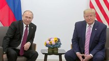 Trump playfully tells Putin not to meddle in election
