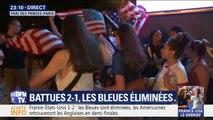 Élimination des Bleues: dans la fanzone parisienne, la déception des supporters est grande