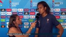 La réaction de Wendie Renard après France / USA