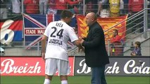 28/08/11 : SRFC-SMC : penalty manqué Niang (11')