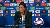 La réaction de Corinne Diacre après France / USA