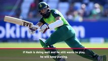 Amla will decide his own South Africa future - Du Plessis