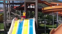 Ankara'da tatil, su parkında güzel