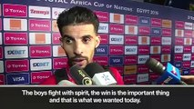 (Subtitled) Morocco want to win group after beating Ivory Coast 1-0 in AFCON