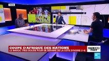 CAN-2019 : La Côte d'Ivoire, sans idée, battue par le Maroc (1-0)