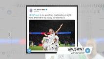Socialeyesed - USA knock out hosts France