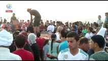 فعاليات ترفيهية على شاطئ الرواق بشمال سيناء