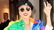 Lady Gaga Dons Rainbow Outfit During Surprise NYC Pride Appearance