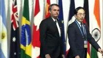 Bolsonaro e Macron têm encontro amistoso na reunião do G20