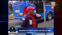 Extraño objeto surcó los cielos de Quito