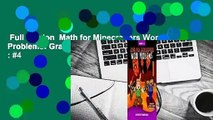 Full version  Math for Minecrafters Word Problems: Grades 3-4  Best Sellers Rank : #4