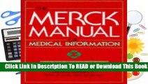 The Merck Manual of Medical Information: Home Edition (Merck Manual Home Health Handbook)
