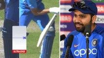 ICC World Cup 2019 : ಅಂಪೈರ್ ವಿರುದ್ಧ ರೋಹಿತ್ ಕಿಡಿ..! | Rohit Sharma  | Oneindia Kannada