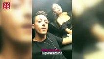 Mesut Özil, rap yaptığı anları takipçilerinin beğenisine sundu