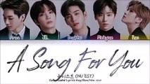 NU'EST (뉴이스트) - 노래 제목 (A Song For You) (Color Coded Lyrics Eng-Rom-Han-가사)