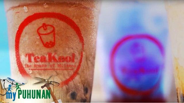 Earl Rugeria shows how he makes his winter melon milk tea | My Puhunan