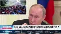 Poutine critique le progressisme : «Les migrants ont le droit de tuer, piller, violer, parce que leurs droits doivent être protégés»