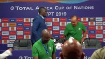 Madagascar and Nigeria talk ahead of AFCON Group B game