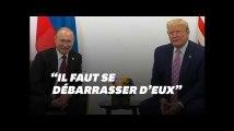 Au G20, Donald Trump et Vladimir Poutine plaisantent sur les journalistes