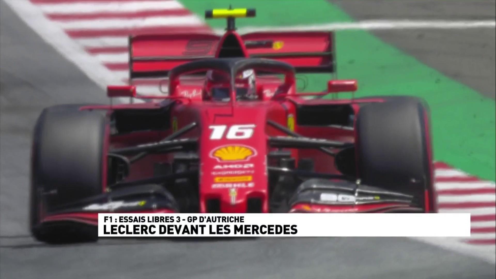 Essais libres 3 : Leclerc devant les Mercedes