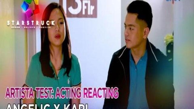 StarStruck: Karl Aquino and Angelic Guzman's acting, perfect or horrific? | Top 14