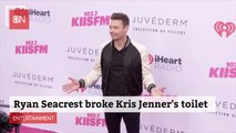 Ryan Seacrest Had Toilet Issues At Kris Jenner's House
