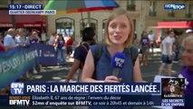 La gay pride défile à Paris, notamment pour défendre l'ouverture de la PMA à toutes les femmes