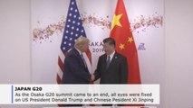 Trump, Xi steal headlines at G20