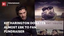 Kit Harington Contributes To A Fan