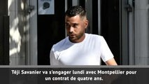 Transferts - Savanier rejoint Montpellier !