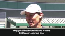 (Subtitled) 'Roland Garros is past' Nadal is looking forward to Wimbledon