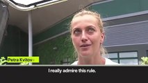 (Subtitled) 'I love strawberries and cream!' Two-time Wimbledon champion Kvitova happy to be back