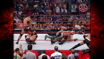 Kane Saves Hollywood Hogan & The Rock From A nWo Attack! 3/25/02