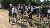 Départ de l'Erdre auto vélo vintages