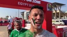 Supporter algérien avant le choc face au Sénégal !