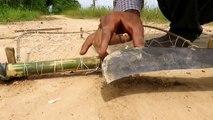 Facile d'Oiseaux de Piège Simple BRICOLAGE Créatif Oiseau Piège de faire de Net Que le Travail à 100% Par des Hommes