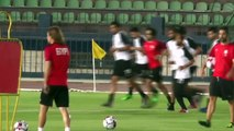 Egypt train ahead of AFCON Group A match against Uganda
