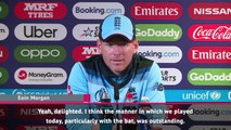 We were outstanding today - Morgan on England victory