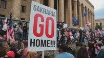Georgianos salen por décimo día a la calle para exigir renuncia de ministro