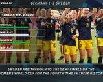 FOOTBALL: FIFA Women's World Cup: 5 Things Review - Germany 1-2 Sweden