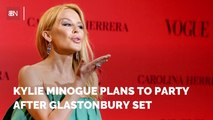 Kylie Minogue's Glastonbury Plans