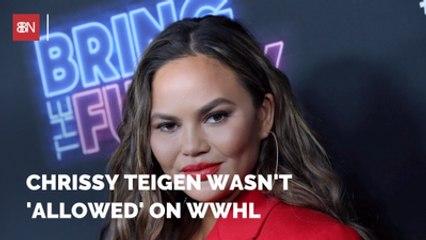 Chrissy Teigen Overcomes Drinking Problem On WWHL