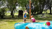 The World is Lucky Because of Siblings Baby's Humor - Funny Fails Baby