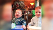 Trouble Baby Making Crazy Things - Funny Fails Baby Videos